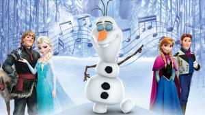 Frozen singing Olaf