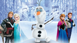 Frozen singing Olaf
